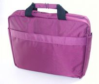 "KNOX 15.6"" CLAMSHELL LAPTOP CASE NOTEBOOK BAG ROYAL PURPLE DOUBLE PROTECTION"